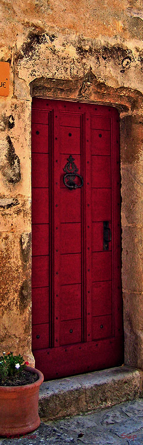 red door pano